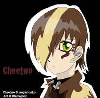 If Cheetwo Were Human by Blairaptor