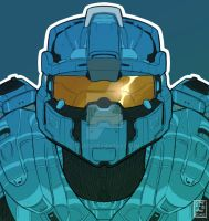 Halo Icon Centurion Commission by EzJedi