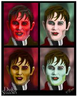Warhol Style Barnabas - Dark Shadows Contest by rwcombs