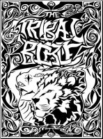 Tribal Bible Cover by CryoSphinx