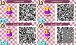 Greed Overalls QR Code by JimmyPiranha