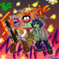 Electric Mayhem, Jr. by CrackpotComics