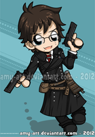 Blue Exorcist - Yukio by amy-art