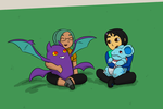 Poison babies and their trainers by MrTwinklehead