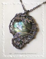 Forest Twilight II by blackcurrantjewelry