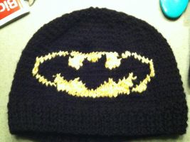 Batman beanie by PatchesOfInk
