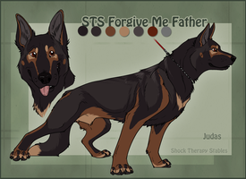 Look Who's Grown Up- Judas by ShockTherapyStables