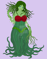 Laura the Love Vine Monster Girl by The-Episiarch