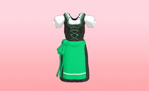 MMD Medieval inspired womens dress by amiamy111