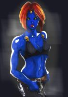 Mystique II by psychotic-cheshire