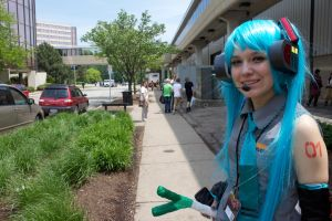 Hatsune Miku Cosplay by superpurpleninja