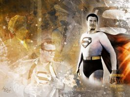 Superman - George Reeves by ManePL