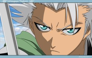 Hitsugaya Toushiro - Wallpaper by Chronuz