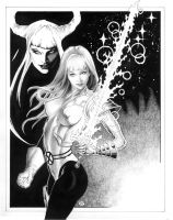 Magik of the New Mutants by MichaelBair