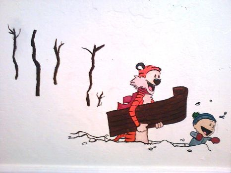 Calvin and hobbes favourites by thinga mabob on deviantart for Calvin and hobbes nursery mural