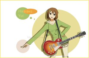 K-ON Hirasawa Yui by LMP-TheClay