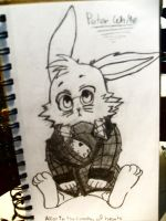 peter whites bunny form by xanimedrawerx