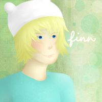 Speed paint: Finn the human by CherryTheKitty