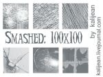 Smashed 100x100: Icon Glass by kalijean