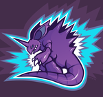 Day 22: Coolest Pokemon - Nidoking by avroillusion