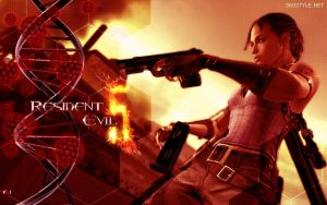 Resident Evil 5 Wallpaper No.3 by F-1