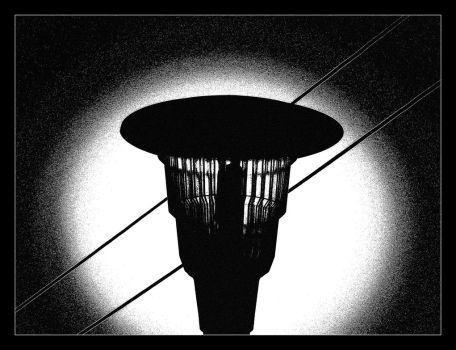 Lamp And ... Two Wires by skarzynscy