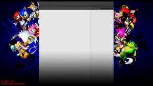 Sonic heroes youtube background by infersaime