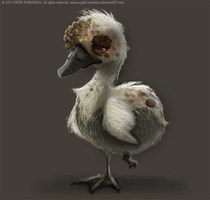 DAY 364. Ugly Duckling by Cryptid-Creations
