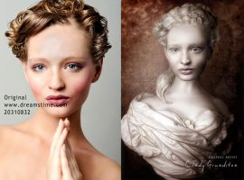 HumanStone before and after by CindysArt
