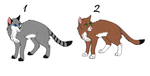 cat adoptables 1 by swiftdawn