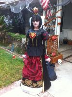 Queen of Hearts from Alice the Madness Returns by Snobrdchic