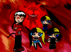 My OC's- The Psychotic Ones by Brashgirl901