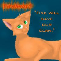 Fireheart by Ardnak by StarClan