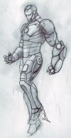 the invincible ironman by madd-sketch