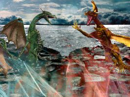 Battle of Elements by thistlesis