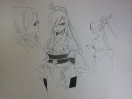 erza scarlet outfit collection 2 by nboateng