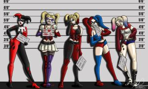 Harley Lineup by monakaliza