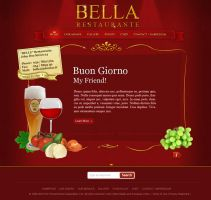 Restaurant Template Belle by thebebel