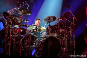Rush: Neil Peart in Toronto by basseca