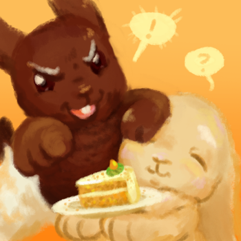 Team Carrot Cake Ask Blog Icon by bunnish