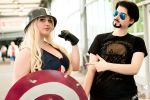 Marvel - Captain america and Tony stark by KAMIxSAMA