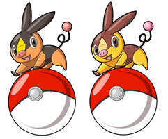 Tepig Stickers by DiRosso