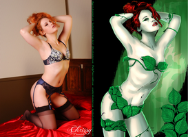 Chrissy Daniels Is Poison Ivy By Ange10 And Ulics by zenx007