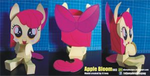 Apple Bloom completed model by ELJOEYDESIGNS