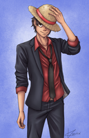Monkey D. Luffy by KuraVix