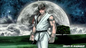 Ryu Street Fighter by wakmanap
