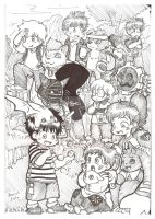 Younger Days Digimon Adventure by dcrisisbeta