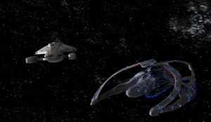 Andromeda and Voyager by Hatvok