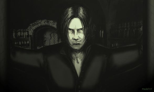 Severus Snape -Come in , Ms Granger - Harry Potter by PaulaTnT