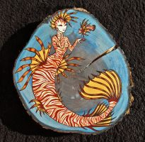 Lionfish Mermaid by LizPotterArt